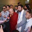 达赖喇嘛尊者抵达印度查莫克什米尔邦