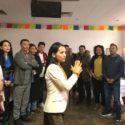 """首次在德国藏人社区举行""""中间道路""""培训活动"""