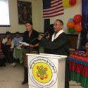 藏人行政中央驻北美代表出席美国费城周末藏语学校成立7周年校庆