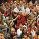 达赖喇嘛尊者在瑞典会见藏人和援藏人士