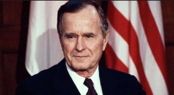 美国第41任总统乔治H·W·布什  1924-2018