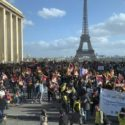 海外藏人巴黎集会游行纪念西藏310事件60周年