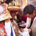 藏人行政中央噶夏祈请乃琼护法赐福