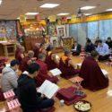 在台藏人为近期自焚藏人云丹举办祈祷法会