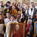 达赖喇嘛尊者在菩提迦耶向外国信众讲解慈悲理念