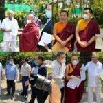 印南藏人社区捐款两千万卢比救济印度贫困民众