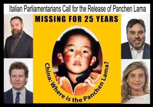 意大利国会議員敦促中共釋放第十一世班禪喇嘛根顿确吉尼玛及所有遭非法监禁的藏人政治犯