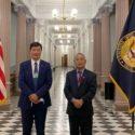 西藏流亡政府官员60年来首次访问白宫